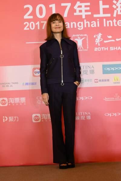 Isabelle Huppert lors de la 20ème édition du festival du film de Shanghai