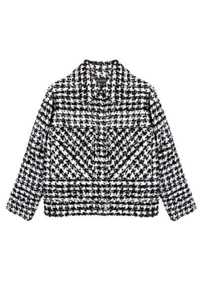 Black and white, veste courte en tweed, 270 € (Eple & Melk).
