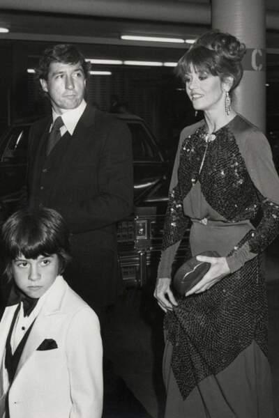 Jane Fonda dans une jolie robe James Reva, en 1979