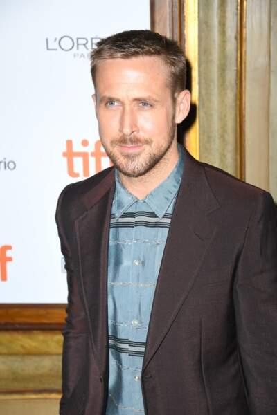 Toronto International Film Festival, Ryan Gosling est plus posé et présente un style plus épuré. On valide !