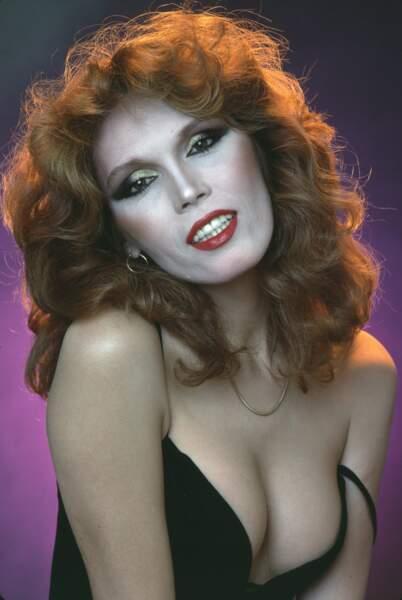 Disco queen, en 1976.