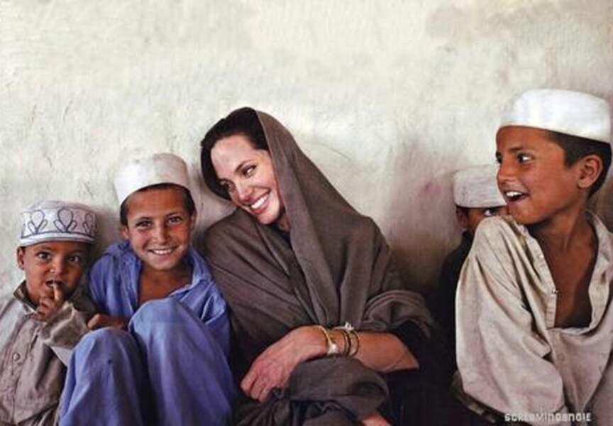 Angelina Jolie ambassadrice de bonne volonté à l'ONU