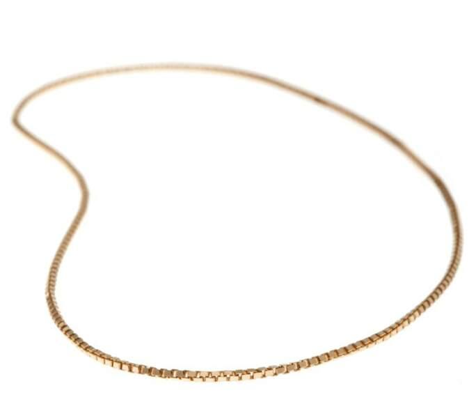 Bracelet sans fermoir L'Essenziale, en or 18kr, soudé directement sur le poignet, à partir de 150 €, Atelier VM.