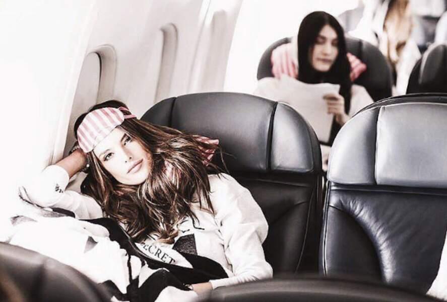 Alessandra s'endormirait presque.