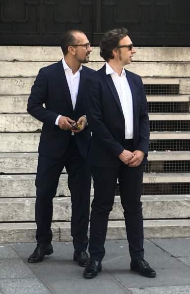 Stéphane Bern et son compagnon Lionel