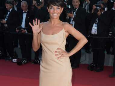 Florence Foresti en robe nude à Cannes