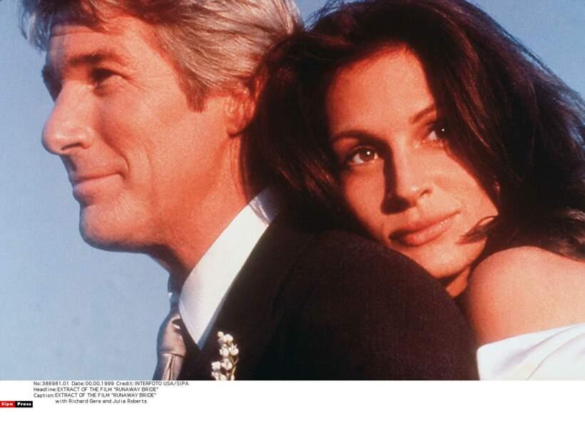 """Elle retrouve Richard Gere dans le film """"Just Married (ou presque)"""" en 1999"""