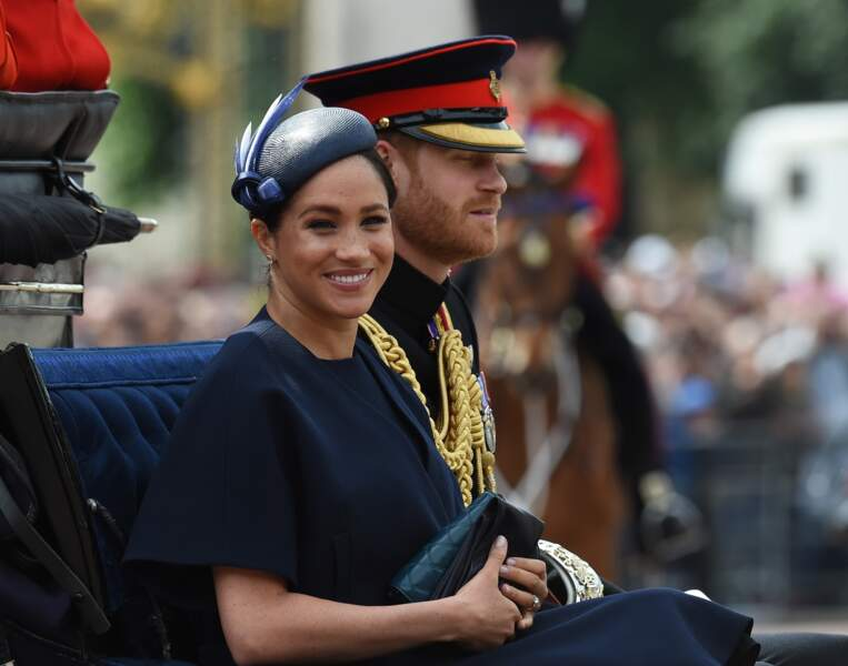 Meghan Markle, la jeune maman radieuse pour la parade Trooping the Colour 2019