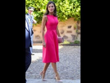 Kate Middleton, Letizia d'Espagne, Brigitte Macron... Elles portent toutes du rose