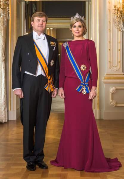 Willem-Alexander et Maxima