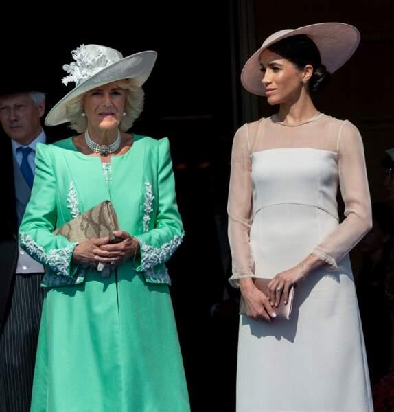 Camilla Parker Bowles et Meghan Markle en rose pour les 70 ans du prince Charles