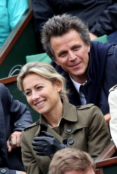 Anne-Sophie Lapix et son mari Arthur Sadoun