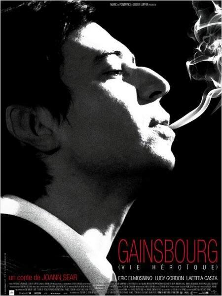 Gainsbourg, vie héroïque de Joann Sfar en 2010