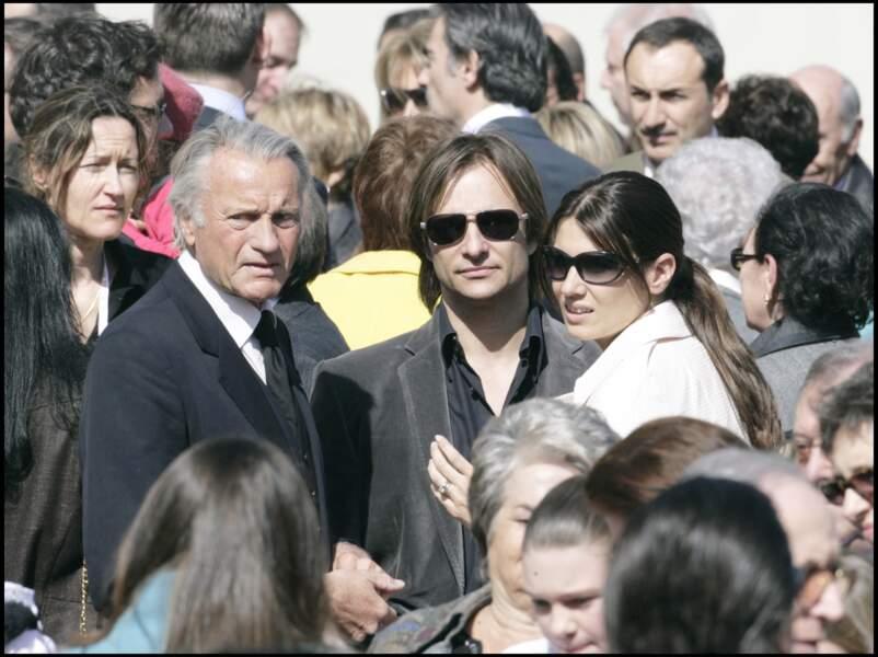 David Hallyday et sa femme Alexandra Pastor au 50ème anniversaire du Prince Albert II de Monaco