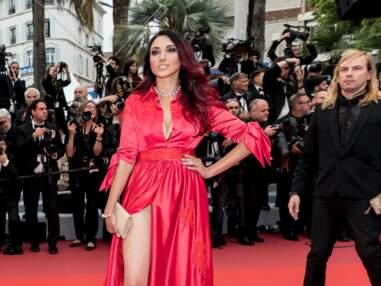 Cannes 2019 : Delphine Wespiser en montre un peu trop