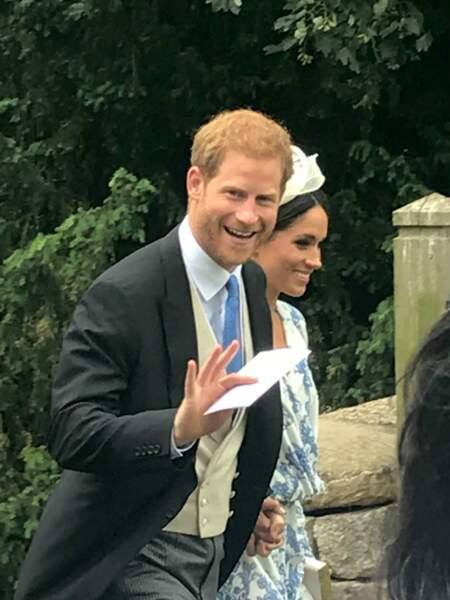 Meghan Markle et le Prince Harry invités au mariage de Celia McCorquodale et George Woodhouse.