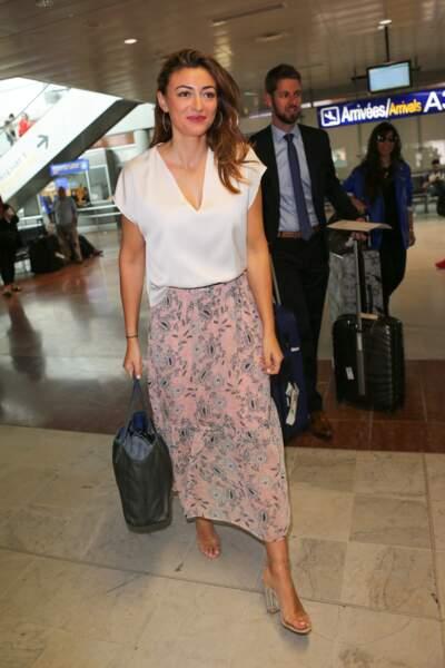 Rachel Legrain-Trapani arrive au festival de Cannes le 18 mai 2017