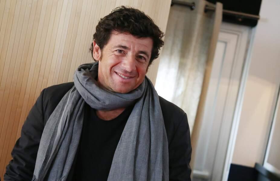 """Patrick Bruel à Cannes, à l'occasion de la présentation du film """"Tu veux ou tu veux pas"""", en 2014"""