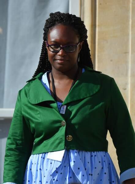 Sibeth Ndiaye en plusieurs looks confectionnés maison 9/10