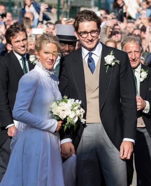 Ellie Gouldong et son mari Caspar Jopling se sont mariés le samedi 31 août, à Londres, devant une pléiade de stars.