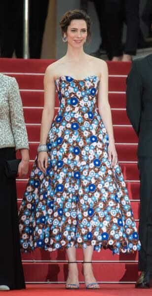 Rebecca Hall en Dior Haute Couture, bijoux Chaumet