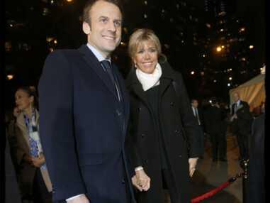 Brigitte Macron au dîner du CRIF