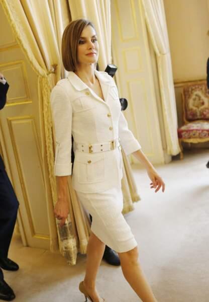 Letizia est réputée pour son style impeccable