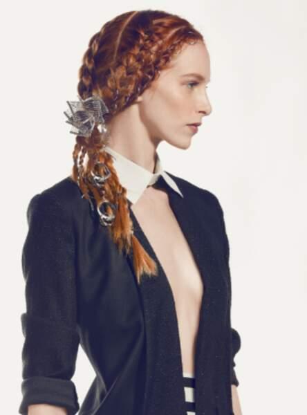 Les bijoux de cheveux (Gérard & Laurent - L'Oréal Professionnel)