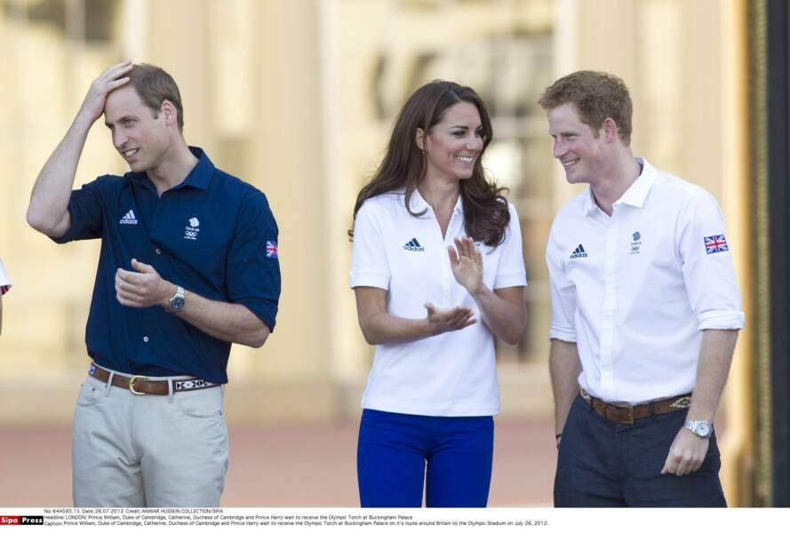 Kate et Harry laissent William s'occuper des mondanités, dans l'ombre, ils s'amusent