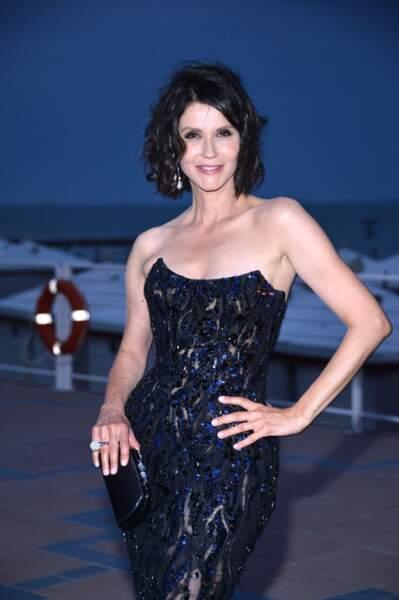 La danseuse et comédienne Alessandra Martines (55 ans), en 2014 à La Mostra de Venise