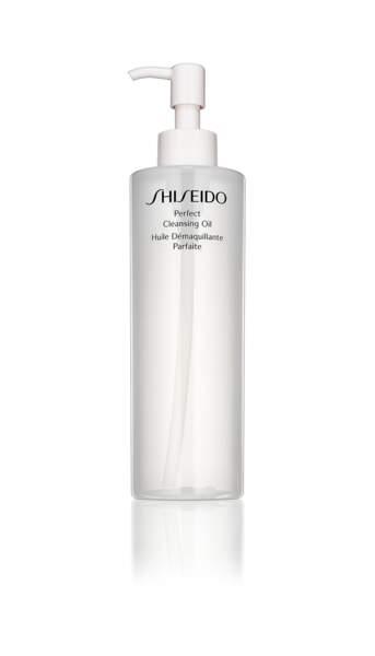 Karin Viard adore les huiles démaquillantes comme celle de Shiseido