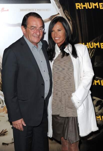 Jean-Pierre Pernault et sa femme Nathalie Marquay