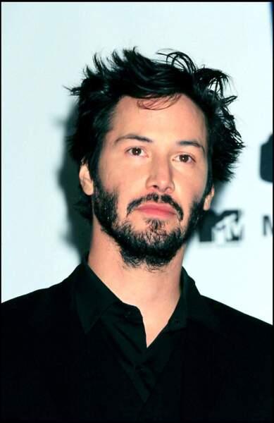 Keanu Reeves, 35 ans piles et une allure de rock star entre musique et cinéma