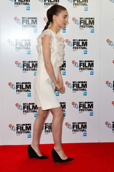Rooney Mara ou la preuve en image que l'on peut porter une tresse, même les cheveux fins.