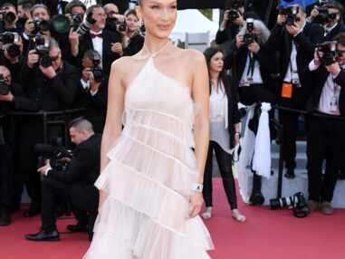 PHOTOS - Découvrez les secrets de la robe Dior Haute Couture de Bella Hadid au Festival de Cannes
