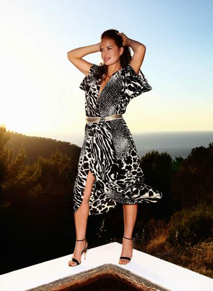 Jade Jagger pose à Formentera