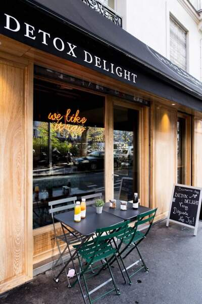 Le Bar à jus Détox Delight à Paris