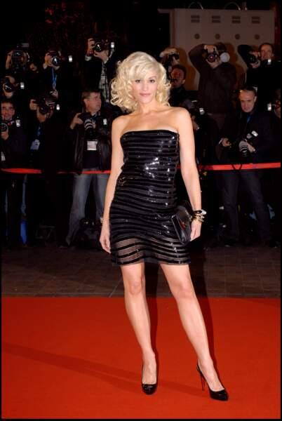 Gwen Stefani, lors de la cérémonie des NRJ Music Awards à Cannes en 2007