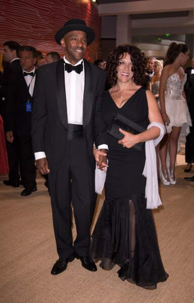 Marcus Miller et son épouse