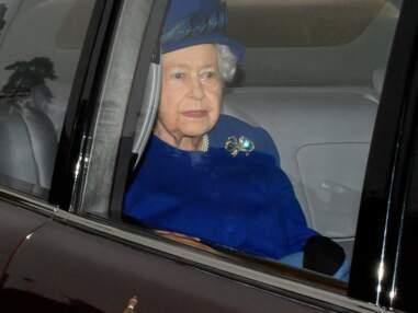 Première apparition publique de la reine Elizabeth II depuis son coup de froid