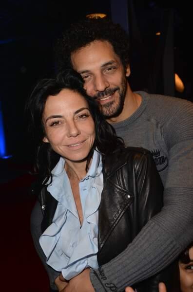 Sandra Zeitoun de Matteis avec son compagnon Tomer Sisley.