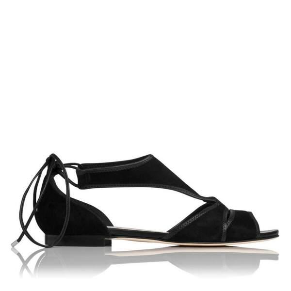 Sandales en Suédine L.K Benett, en ce moment soldée à 70 £ sur le site de la marque !