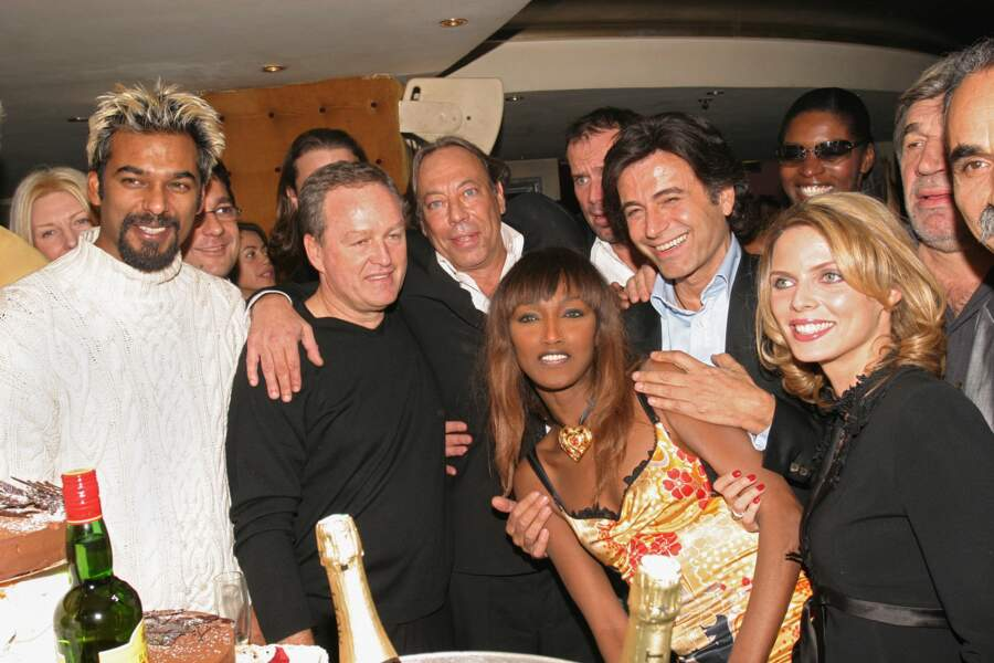 André Boudou lors d'une soirée au VIP Room en 2004.
