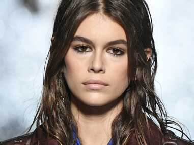 PHOTOS – Kaia Gerber, nouveau visage de Saint-Laurent