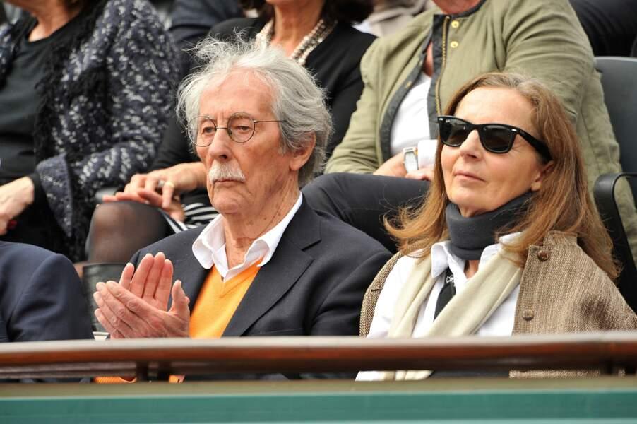 Jean Rochefort et sa deuxième épouse Françoise Vidal en 2014