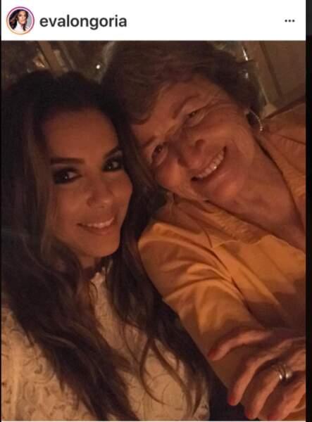 Eva Longoria et sa maman