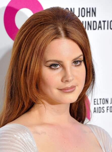 Le roux mêché de Lana Del Rey