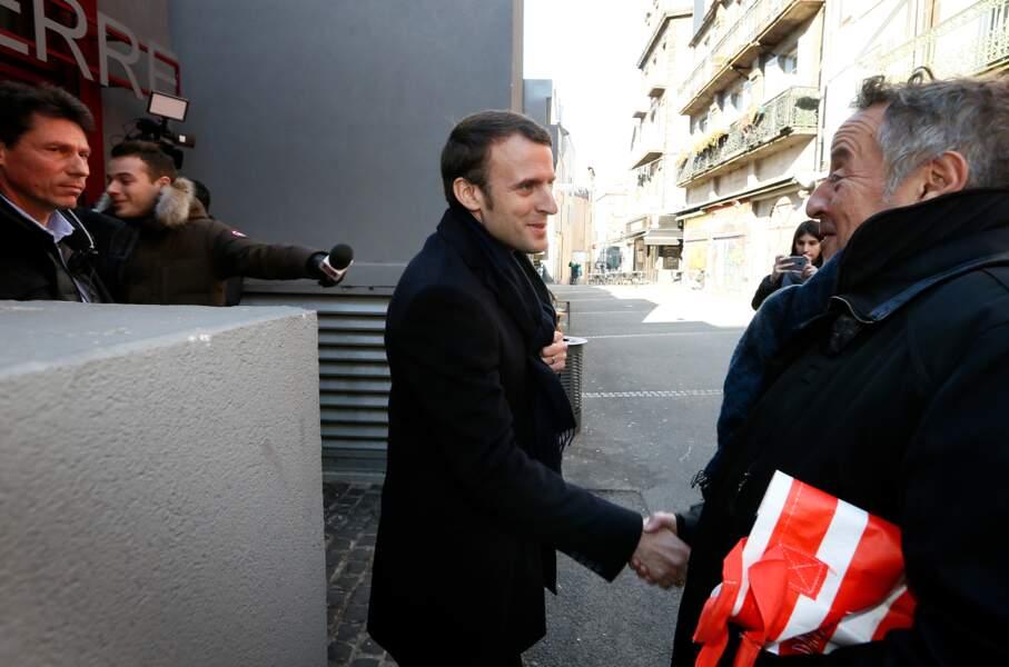 Emmanuel Macron sympathise avec les clermontois