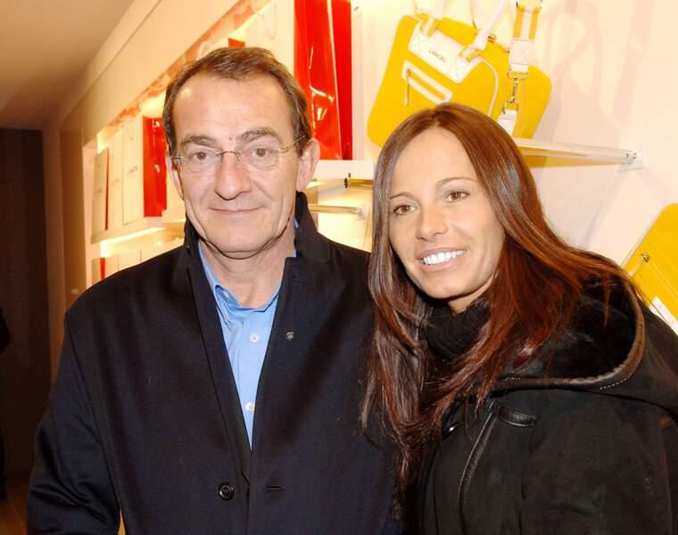 Jean-Pierre Pernaut et Nathalie Marquay se sont rencontrés aux Miss France 2001