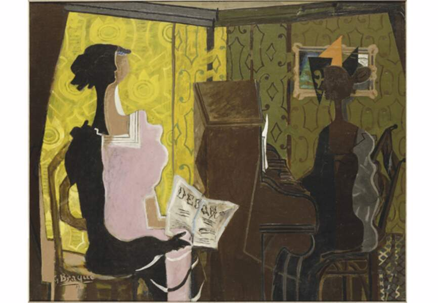 Georges Braque, Le duo, 1937